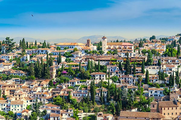 El Albaicín - El barrio árabe de Granada