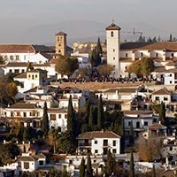 El Albaicin District in Granada