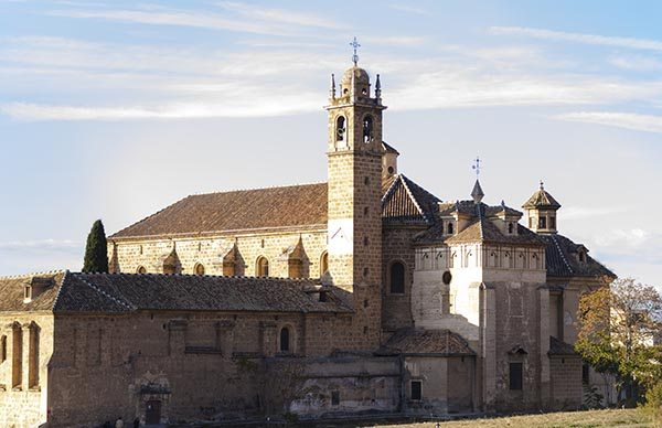 Monasterio de la cartuja monastery in granada - La isla dela cartuja ...